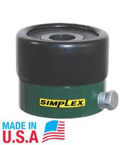 Kích thủy lực rỗng tâm Simplex RC120A( 12 tấn, 0.31 inch)