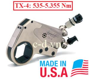 Cờ lê thủy lực Torcup TX-4( 535-5.355 Nm)