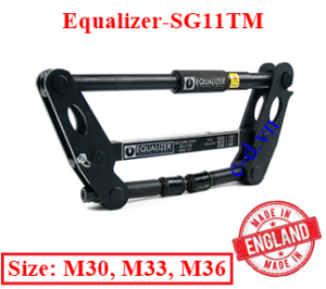 Tách mặt bích Equalizer SG11TM( 11 tấn M30, M33, M36)